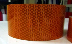 Orange V92 Reflexite