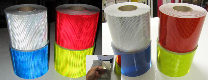 Reflective tape types and intensities class reflective tape white aloadofball Choice Image