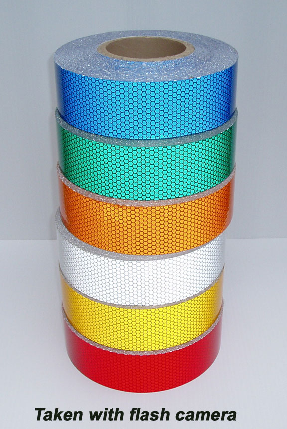 High intensity type 3 reflective tape specifications honeycomb