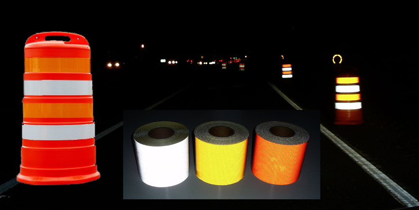 Reflective tape for work zones temporary traffic control flexible aloadofball Choice Image