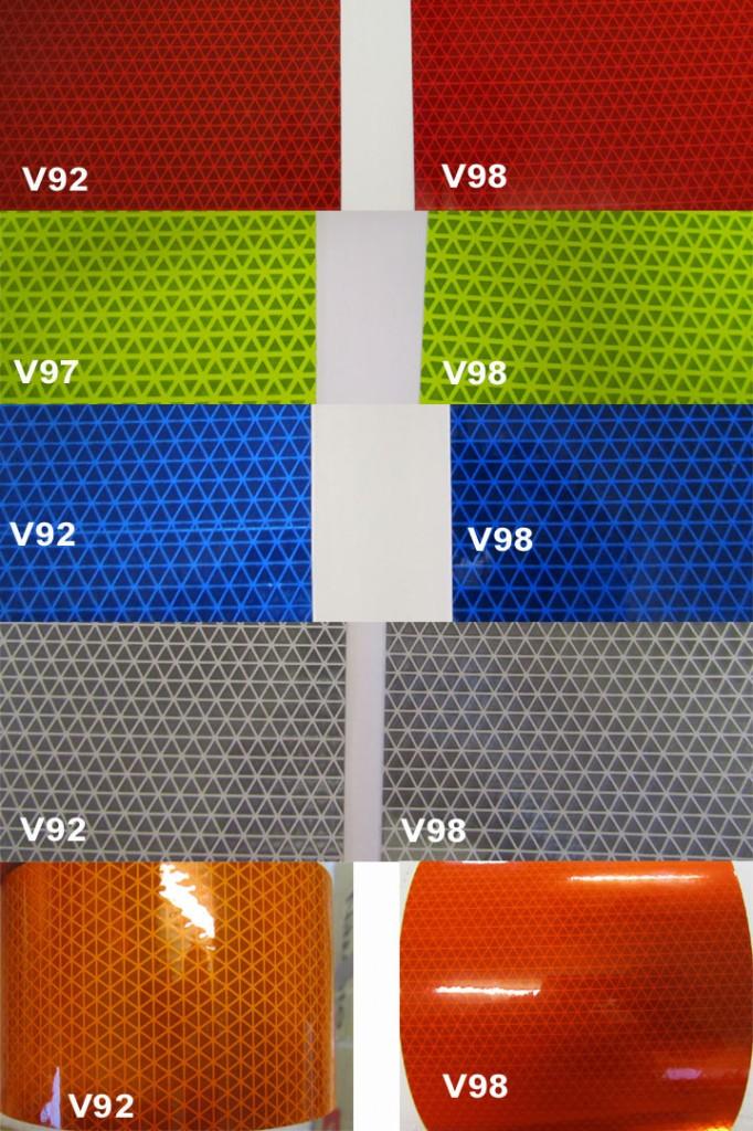 V92 V98 Orafol Reflexite Colors