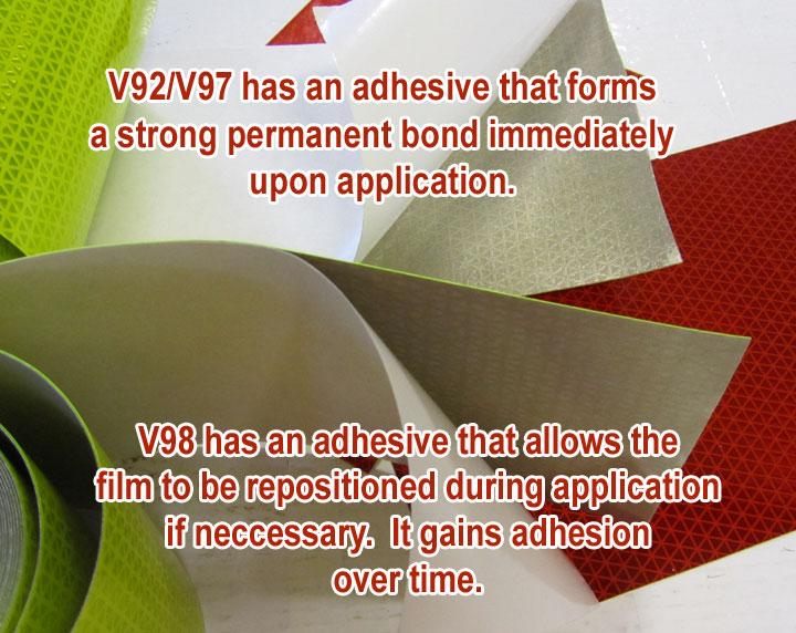 V92 V98 adhesive